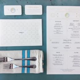 L'Oca d'Oro | Restaurant Branding | Menu Design | finchform co