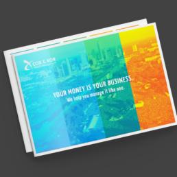 Cox & Kor Brochure Design | Finchform Co. | Austin, TX