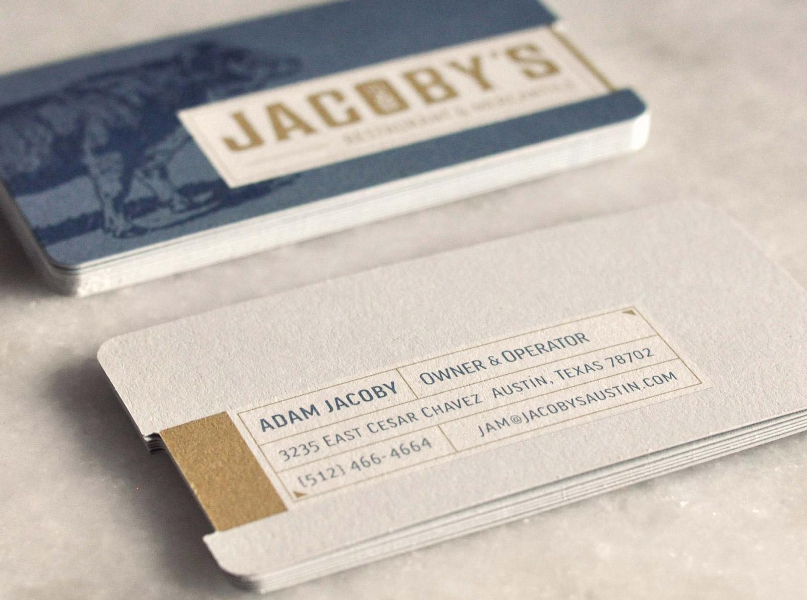 Jacoby s Restaurant & Mercantile Restaurant Branding
